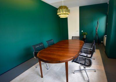 Adaequatio Rénovation salle de réunion Mercier-Vanderlinden Etterbeek 6