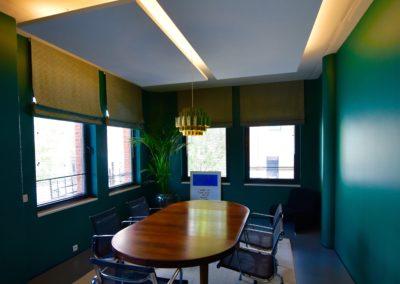 Adaequatio Rénovation salle de réunion Mercier-Vanderlinden Etterbeek 7