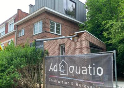 Rénovation et agrandissement de maison