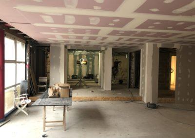 Adaequatio construction rénovation Restaurant La Brasserie de la Woluwe P35