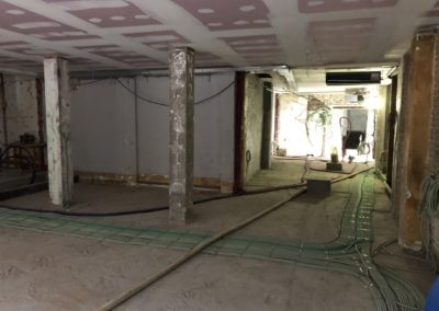Adaequatio construction rénovation Restaurant La Brasserie de la Woluwe P36