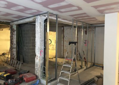 Adaequatio construction rénovation Restaurant La Brasserie de la Woluwe P37