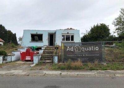 Adaequatio Construction et Rénovation agrandissement maison à Rhode