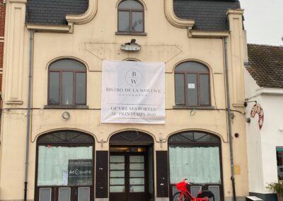 Adaequation construction et rénovation bruxelles belgique toiture Bistro de la woluwe1