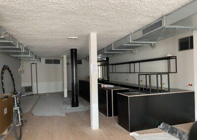Adaequation construction et rénovation bruxelles belgique toiture Bistro de la woluwe11