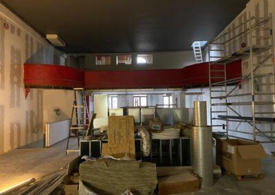 Adaequation construction et rénovation bruxelles belgique toiture Bistro de la woluwe15