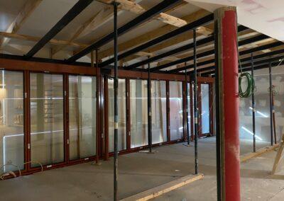 Adaequation construction et rénovation bruxelles belgique toiture Bistro de la woluwe20