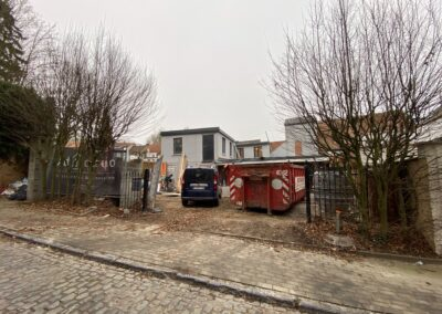 Adaequation construction et rénovation bruxelles belgique toiture Bistro de la woluwe3