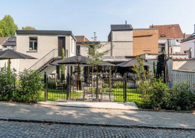 Adaequation construction et rénovation bruxelles belgique toiture Bistro de la woluwe4
