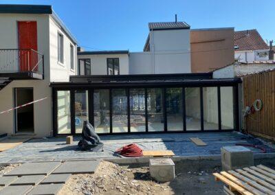 Adaequation construction et rénovation bruxelles belgique toiture Bistro de la woluwe5