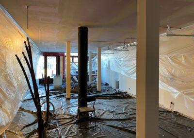 Adaequation construction et rénovation bruxelles belgique toiture Bistro de la woluwe7