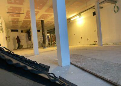 Adaequation construction et rénovation bruxelles belgique toiture Bistro de la woluwe8
