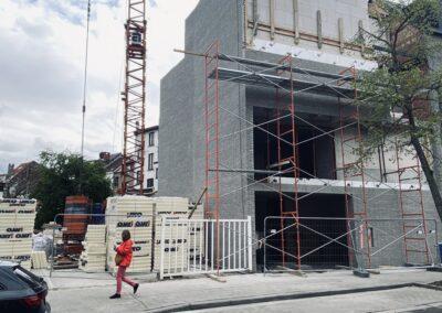 Construction bureaux à Uccle